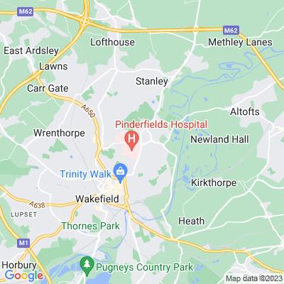 Clarke Hall, Wakefield Location