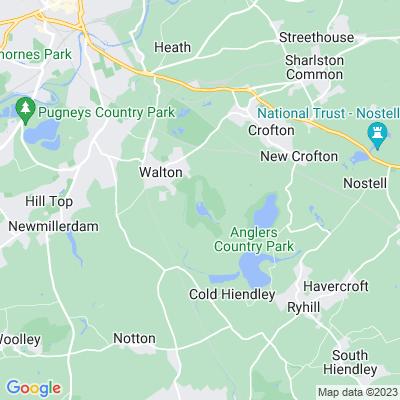 Walton Hall, Wakefield Location
