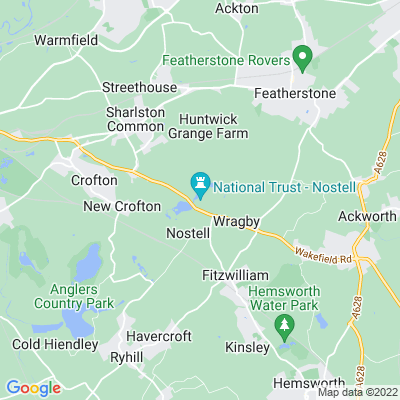 Nostell Priory Location