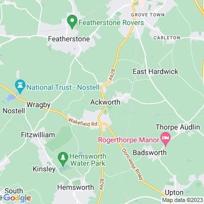 Ackworth School Location