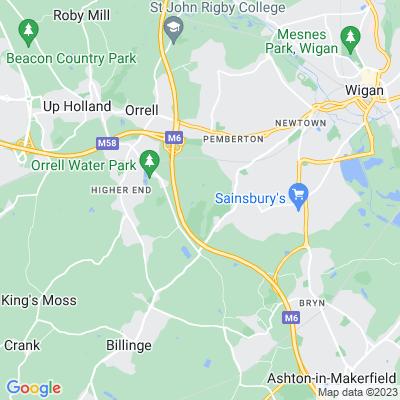 Winstanley Park Location