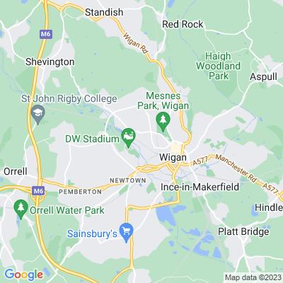 Springfield, Wigan Location