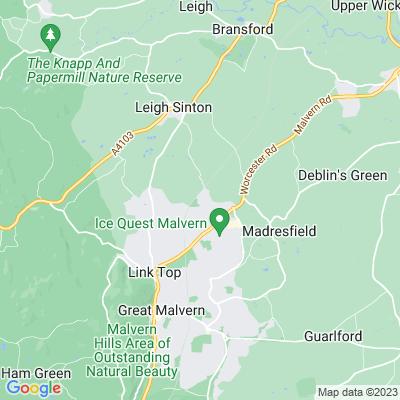Victoria Park, Malvern Link Location