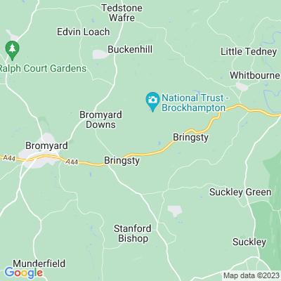 Brockhampton Park, Bromyard Location
