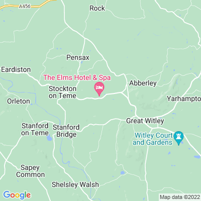 Elms, The, Abberley Location