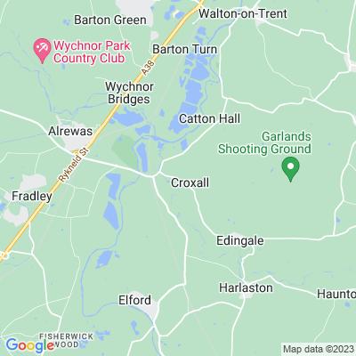 Croxall Hall Location