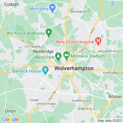West Park, Wolverhampton Location