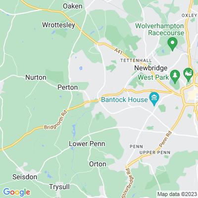 Wightwick Manor Location