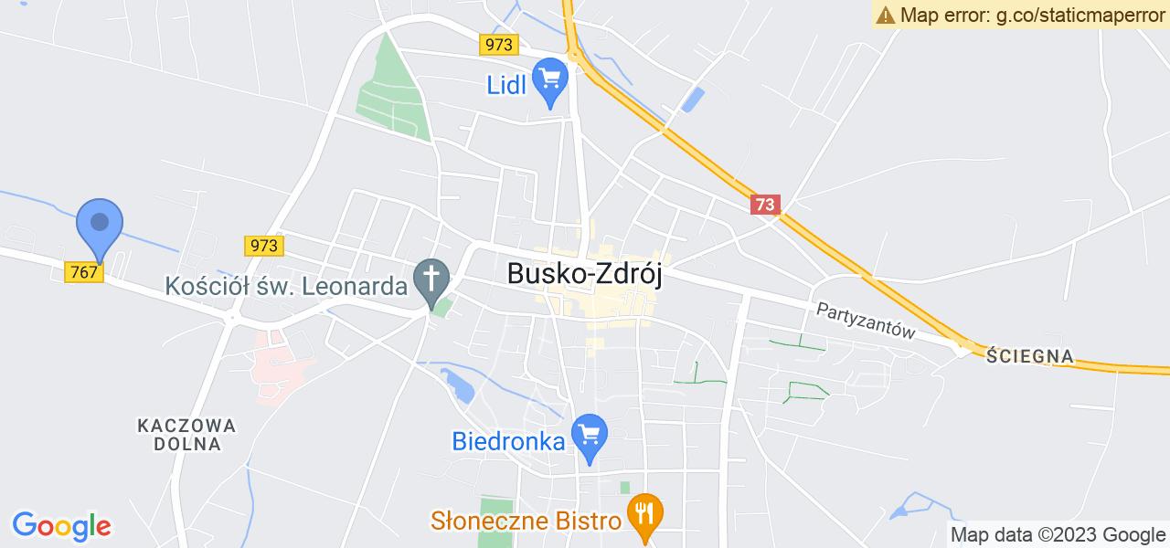 Osiedle Wał w Busku-Zdroju – w tych punktach ekspresowo wyślesz turbinę do autoryzowanego serwisu