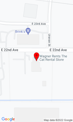 Google Map of Wagner Rents 805 W 39th Avenue, Denver, CO, 80216