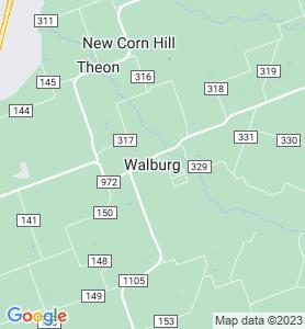 Walburg TX Map
