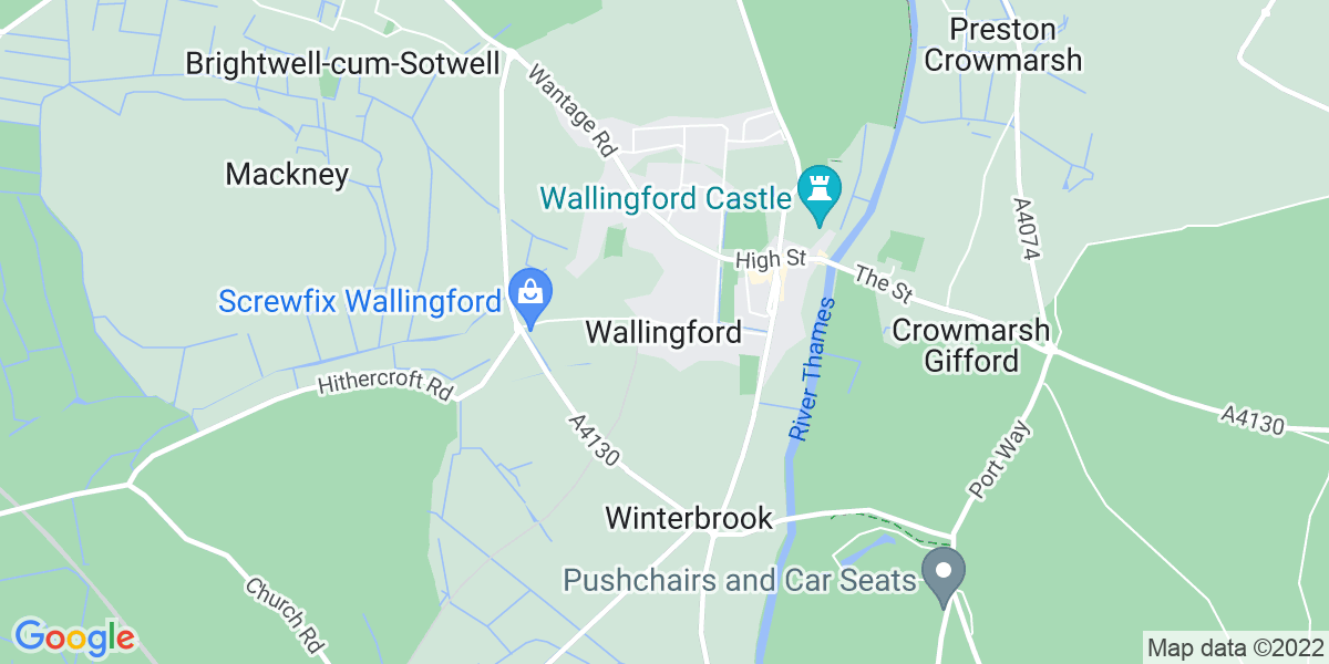 Map: Temporary Marketing Executive job role in Wallingford