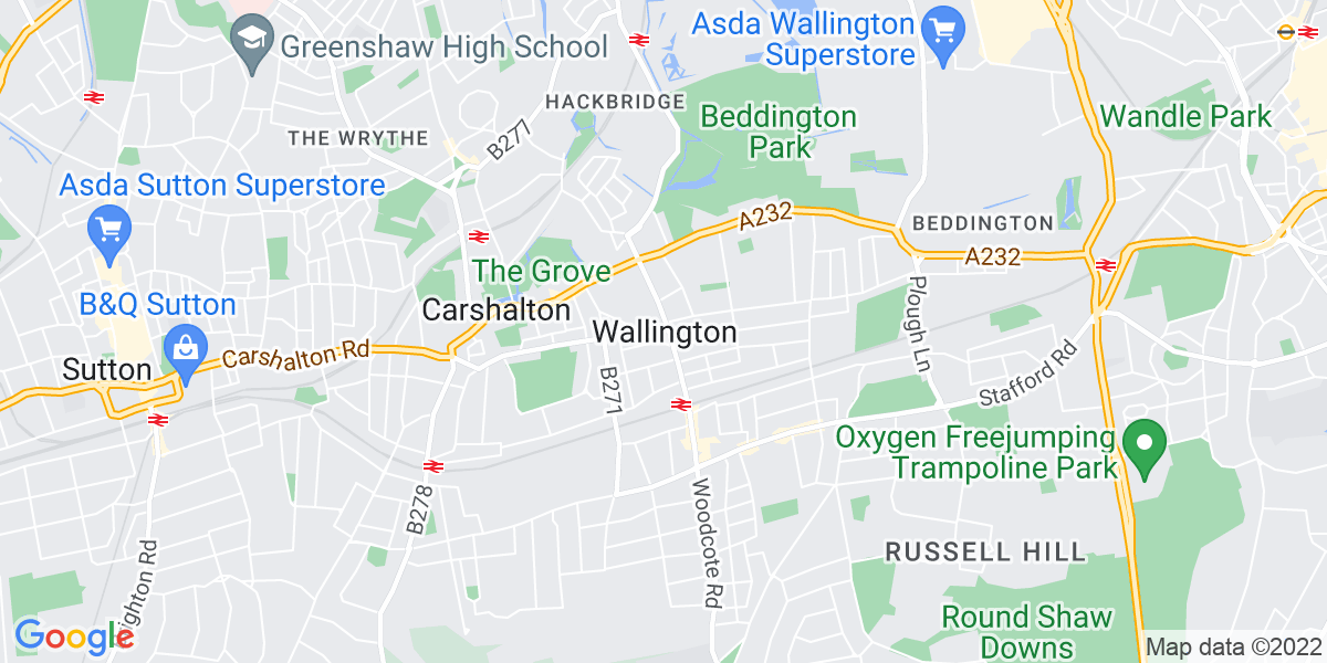 Map: Assistant Restaurant Manager  position in Wallington