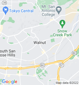 Walnut CA Map