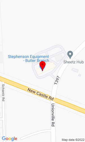 Google Map of Walsh Equipment / A Stephenson Equipment Company 796 Unionville Road, Prospect, PA, 16052,