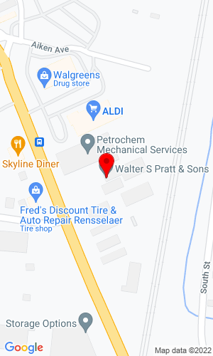 Google Map of Walter S. Pratt & Son 317 Columbia Street, Albany, NY, 12144-2920,