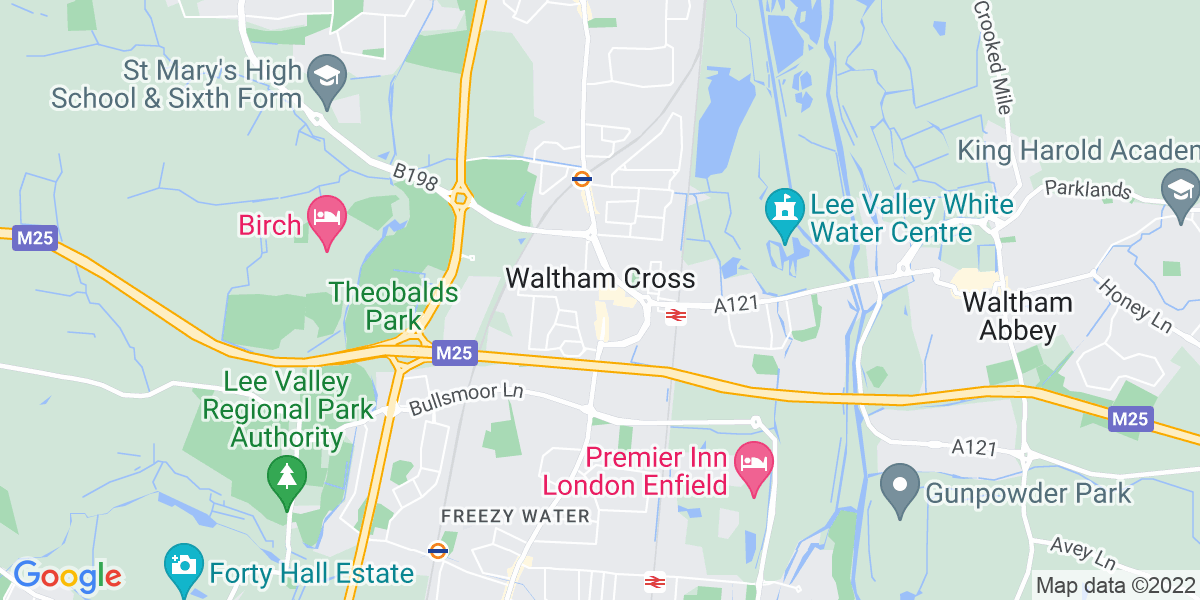 Map: Area Relief Officer job in Waltham Cross
