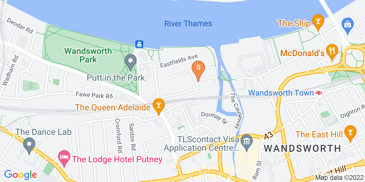Google Map of Wandsworth Osiers Gate4 Enterprise Way London SW18 1NL