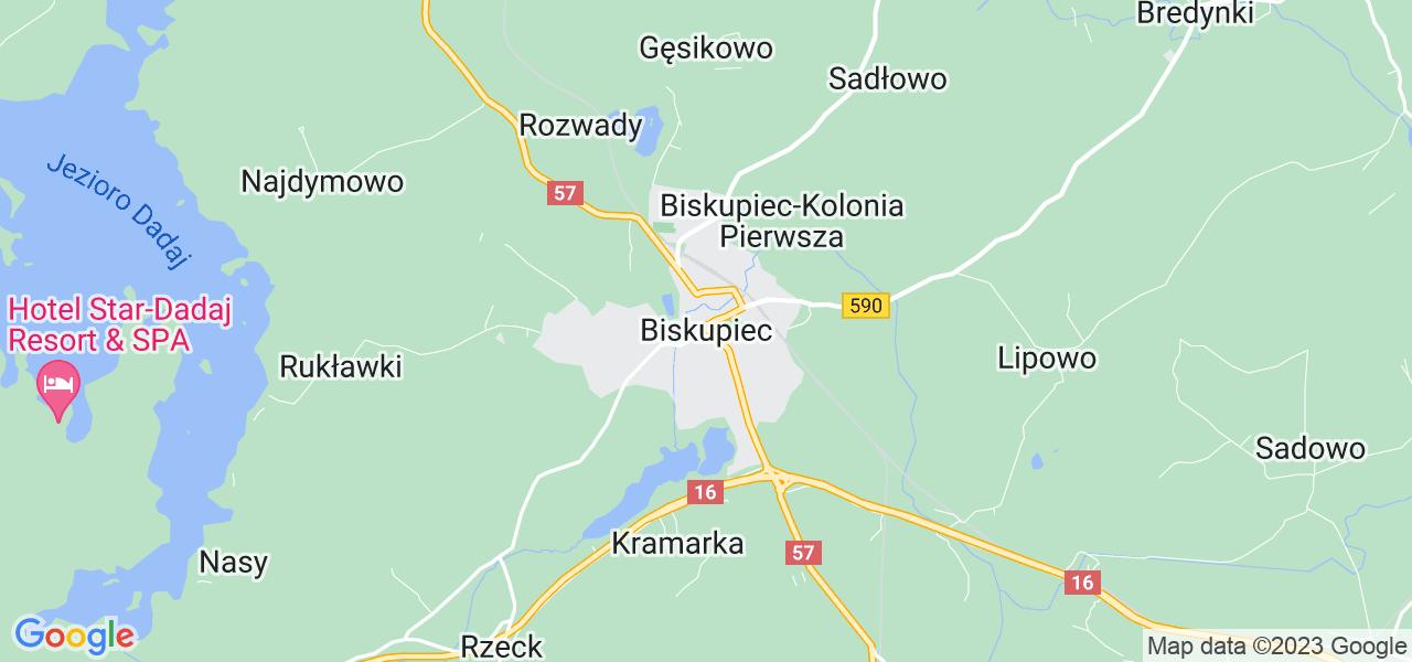 Dostępne w Biskupcu lokalizacje punktów nadania, z których możesz skorzystać, chcąc wysłać turbinę do regeneracji w największym serwisie w Polsce
