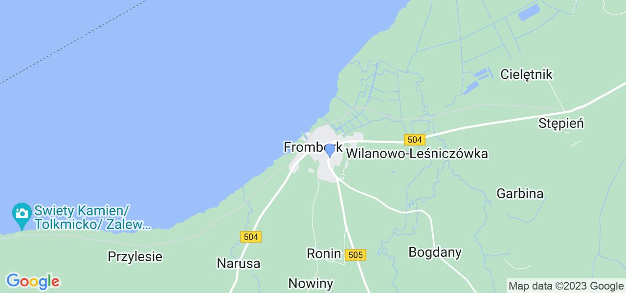 Dostępne w Fromborku lokalizacje punktów nadania, z których możesz skorzystać, chcąc wysłać turbinę do regeneracji w największym serwisie w Polsce