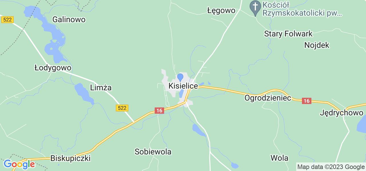 Dostępne w Kisielicach lokalizacje punktów nadania, z których możesz skorzystać, chcąc wysłać turbinę do regeneracji w największym serwisie w Polsce