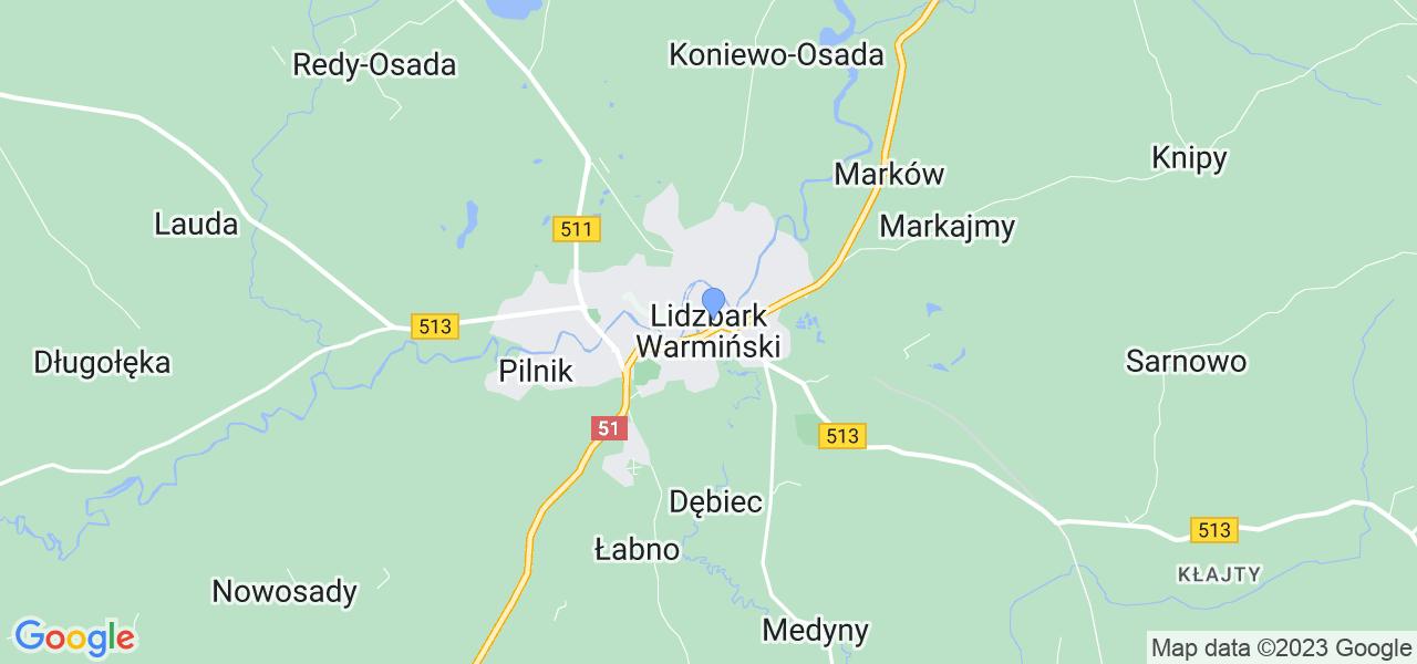 Dostępne w Lidzbarku Warmińskim lokalizacje punktów nadania, z których możesz skorzystać, chcąc wysłać turbinę do regeneracji w największym serwisie w Polsce