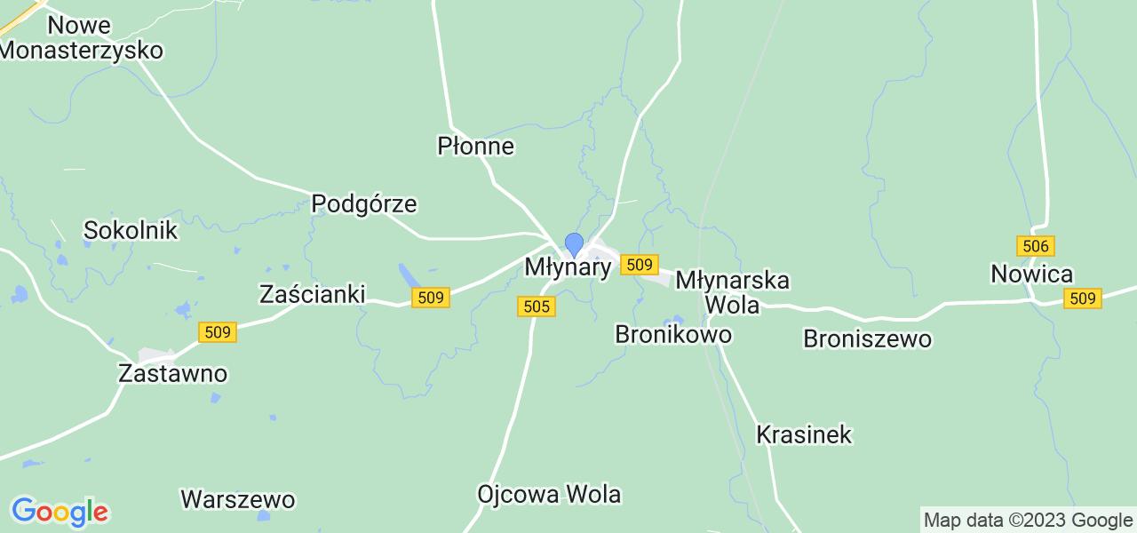 Dostępne w Młynarach lokalizacje punktów nadania, z których możesz skorzystać, chcąc wysłać turbinę do regeneracji w największym serwisie w Polsce