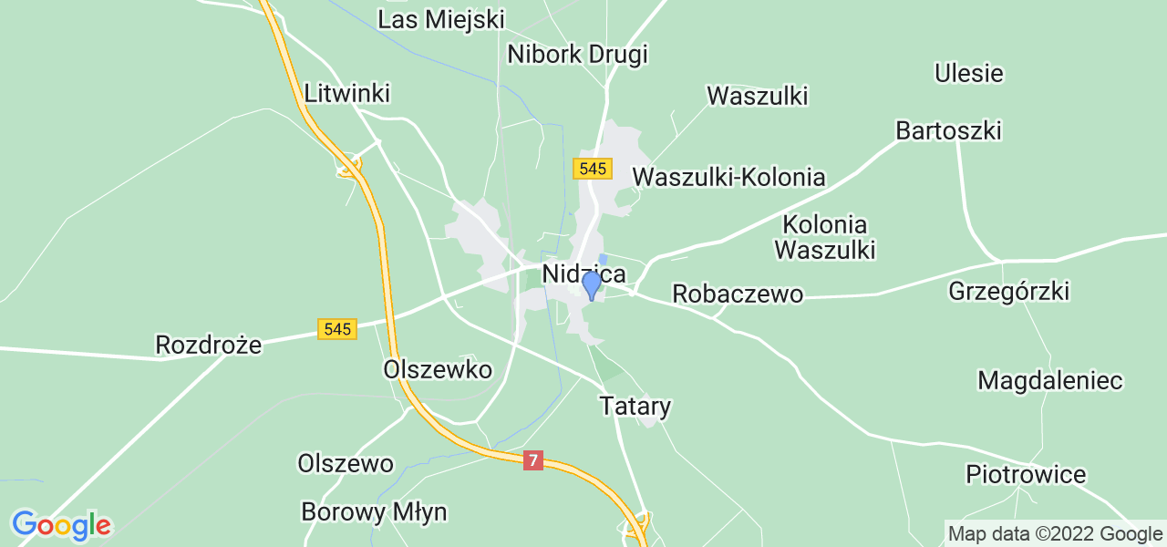 Dostępne w Nidzicy lokalizacje punktów nadania, z których możesz skorzystać, chcąc wysłać turbinę do regeneracji w największym serwisie w Polsce