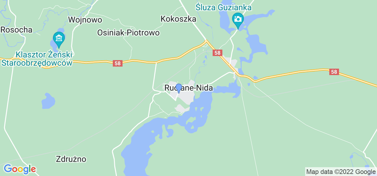 Dostępne w Rucianym-Nidzie lokalizacje punktów nadania, z których możesz skorzystać, chcąc wysłać turbinę do regeneracji w największym serwisie w Polsce