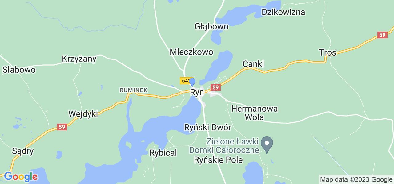 Dostępne w Rynie lokalizacje punktów nadania, z których możesz skorzystać, chcąc wysłać turbinę do regeneracji w największym serwisie w Polsce
