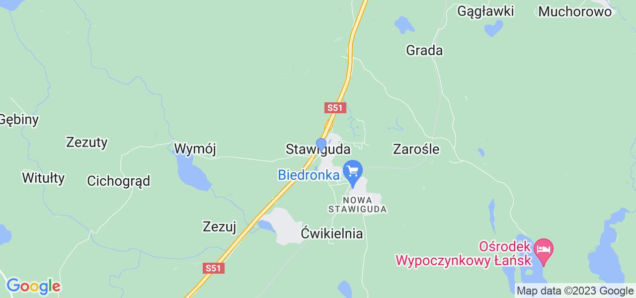 Dostępne w Stawigudzie lokalizacje punktów nadania, z których możesz skorzystać, chcąc wysłać turbinę do regeneracji w największym serwisie w Polsce
