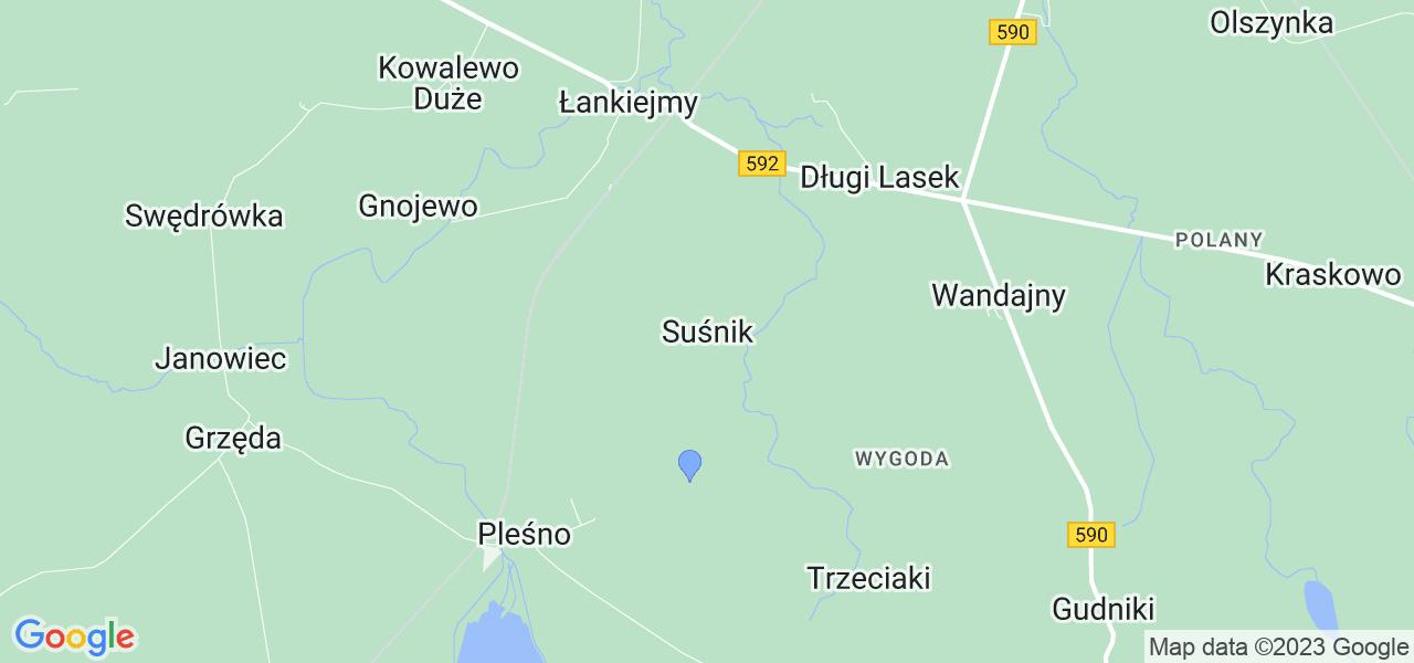 Dostępne w Suśniku lokalizacje punktów nadania, z których możesz skorzystać, chcąc wysłać turbinę do regeneracji w największym serwisie w Polsce