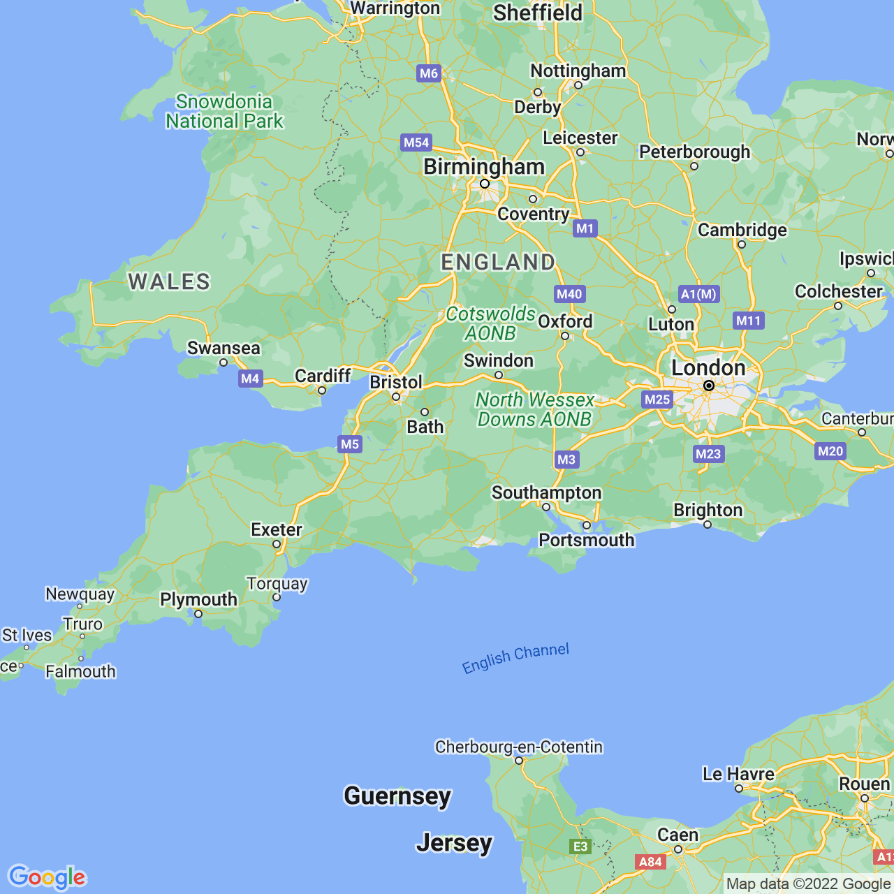Warminster, England Map