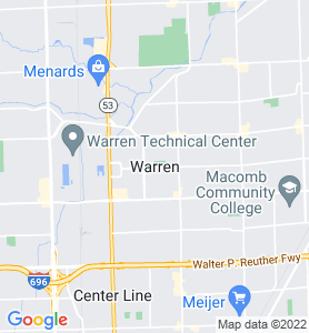 Warren MI Map