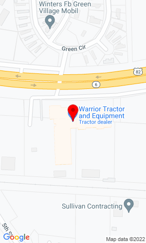 Google Map of Warrior Tractor & Equipment Co. 1911 US 31, Athens, AL, 35611
