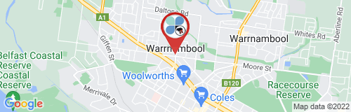 Warrnambool google map