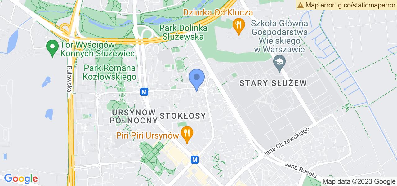 Jedna z ulic w Warszawie – Zamiany 18 LU i mapa dostępnych punktów wysyłki uszkodzonej turbiny do autoryzowanego serwisu regeneracji