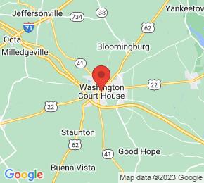 Job Map - Washington Court House, Ohio  US