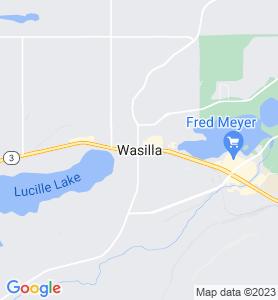 Wasilla AK Map
