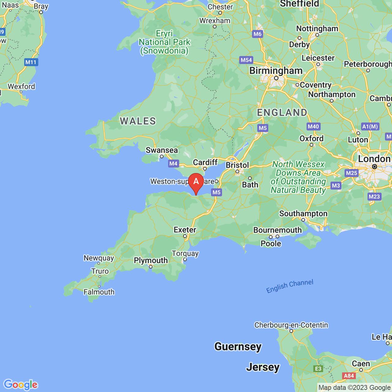 Watchet, England Map