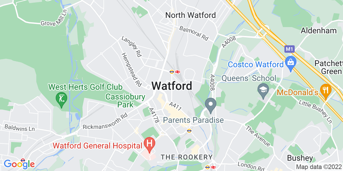 Map: Retail/Hospitality General Manager -  job in Watford
