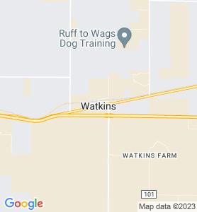 Watkins CO Map