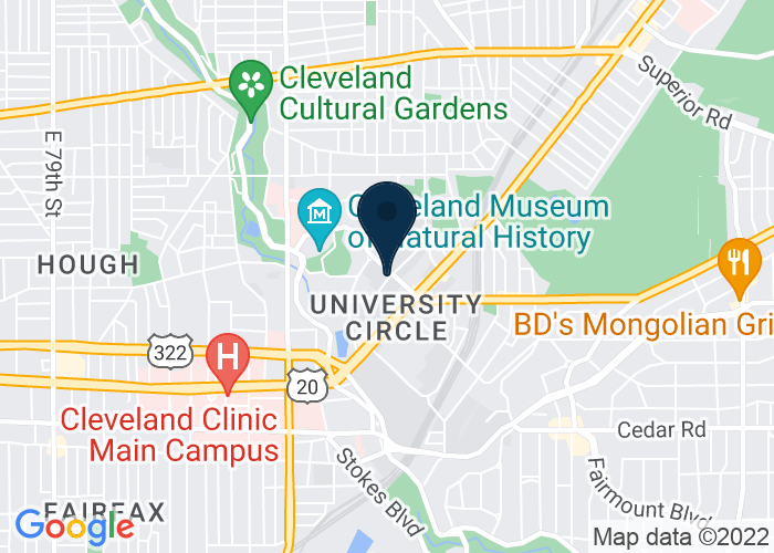 Map of Weatherhead School of Management, Cleveland, OH 44106-7235, United States