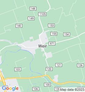 Weir TX Map