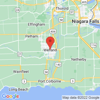 Welland, Ontario industrial painting service area