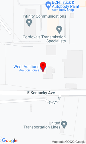 Google Map of West Auction 427 Cleveland Street, 95695, CA, 95776