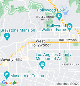 West Hollywood CA Map
