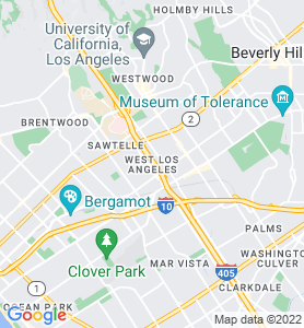West Los Angeles CA Map
