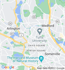 West Somerville MA Map