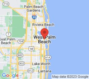 Job Map - West Palm Beach, Florida  US